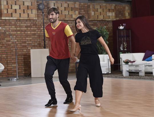 Do prvního vysílání chtějí mít nazkoušených alespoň pět tanců.
