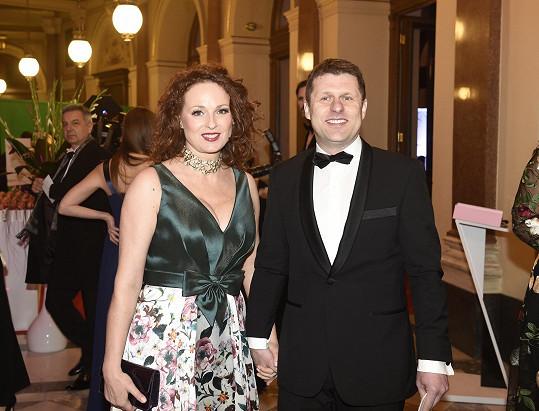 Markéta Hrubešová se ve společnosti ukázala s přítelem.