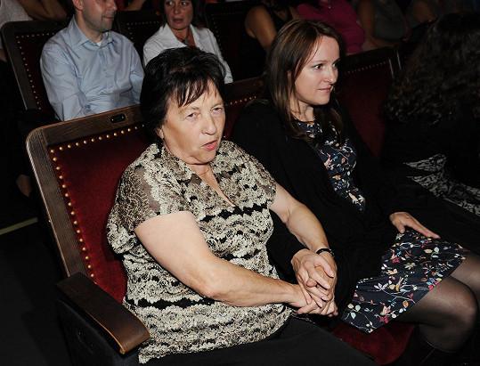 Matka s dcerou koncert prožívaly emotivně.