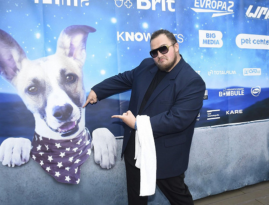 Fatty Pillow na premiéře Gumpa, kde hraje.