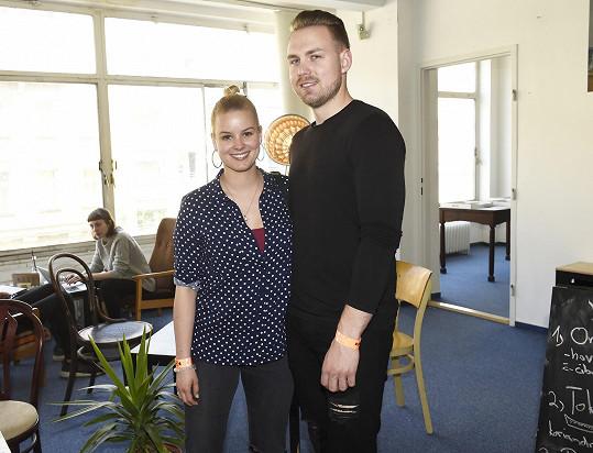 Patricie Solaříková s přítelem Markem vyrazili na Czech Design Week.