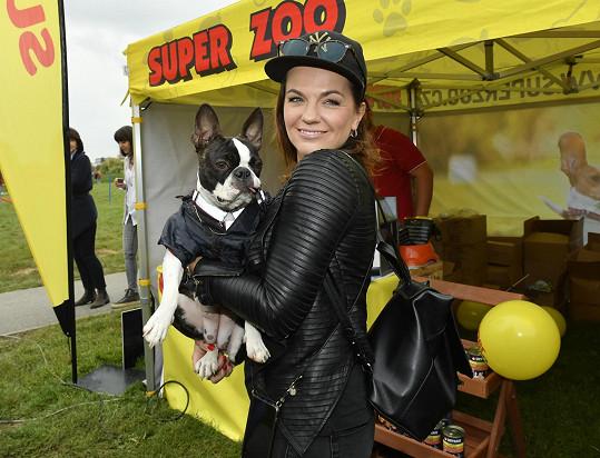 Marta Jandová je milovnice psů.