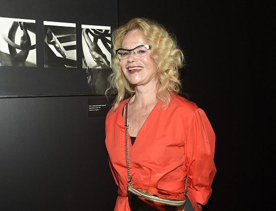 S fotografiemi Františka Drtikola, které jsou součástí výstavy.