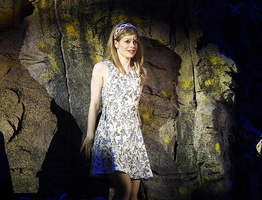 Hana Holišová hrála poslední představení sezóny muzikálu Ať žijí duchové!