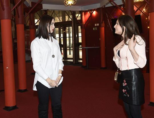 Nacvičovala dialog s Kamilou Nývltovou, která se hlásila na roli zelené čarodějky Elphaby.