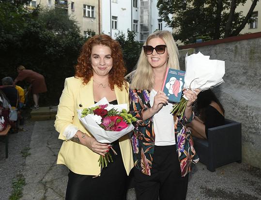 Přišla podpořit kamarádku, spisovatelku Markétu Lukáškovou.