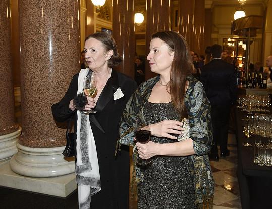 Evelyna Steimarová s dcerou Vendulou