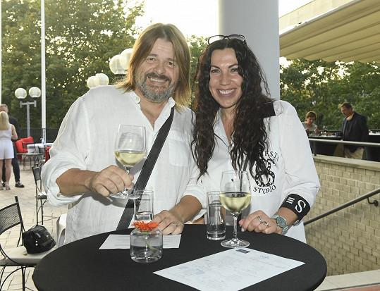 Bohouš Josef s manželkou