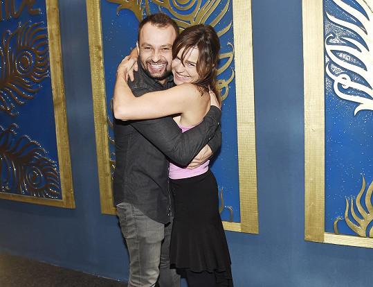 Jako jeden z prvních jí gratuloval taneční partner ze StarDance Marek Dědík.