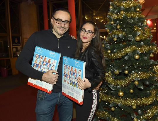 na vánočním večírku v GoJa Music Hall s Marianem Vojtkem