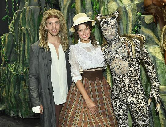 Petra Vojtková jako Jane v muzikálu Tarzan.