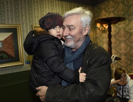S vnučkou Lili