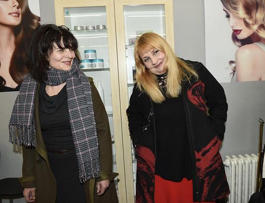 Jana Krausová s Veronikou Gajerovou