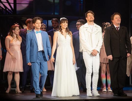 Milan Peroutka nyní hraje v Divadle Broadway pro zdravotníky.
