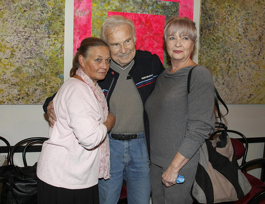 Carmen se potkala i s Janou Preissovou a Luďkem Munzarem.