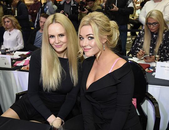 Dominika zasedla v porotě s Českou Miss Lucií Hadašovou.