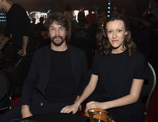 Manželé nechyběli na vyhlášení hudebních Cen Anděl.