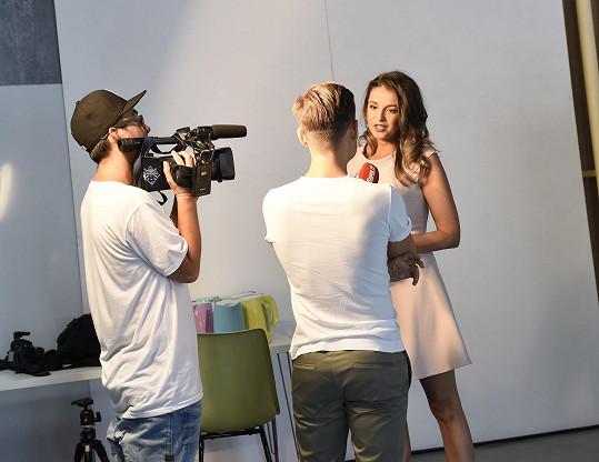 Kubelková během rozhovoru pro Super.cz