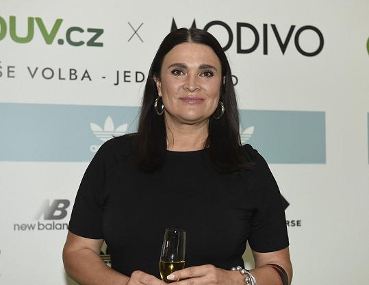 Mahulena Bočanová vyrazila po roce do společnosti.