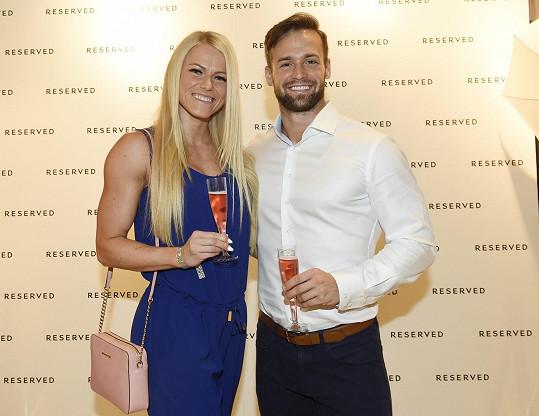 Jakub Kraus s přítelkyní Evou Havelkovou