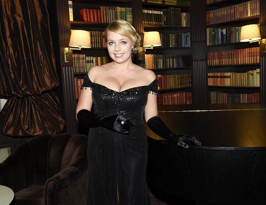 Večer moderovala Markéta Mátlová, která také zazpívala.
