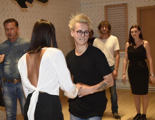 S tanečnicí Zuzanou Štastnou si zatančí valčík a cha-chu.