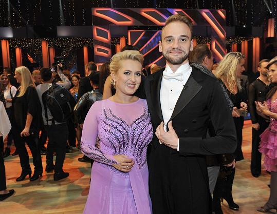 S tanečníkem Michalem Necpálem