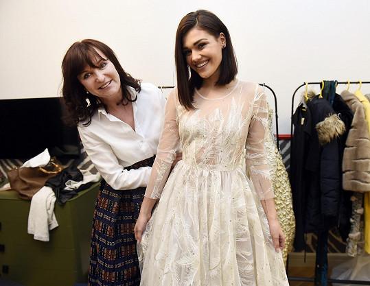 S návrhářkou Beatou Rajskou
