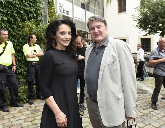 Ladislav Štaidl s Lucií Bílou