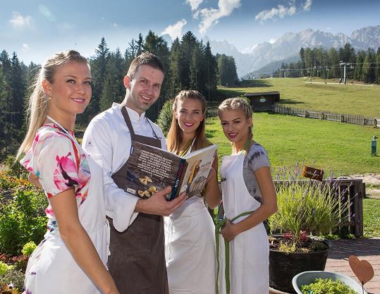 Dívky na návštěvě u michelinského kuchaře Markuse Holzera