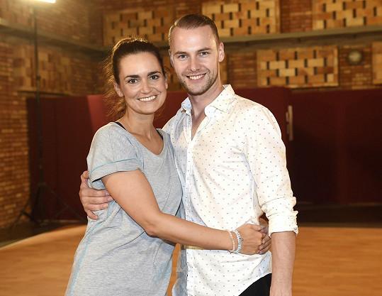 Daniela s Michalem pilně trénují několikrát týdně.