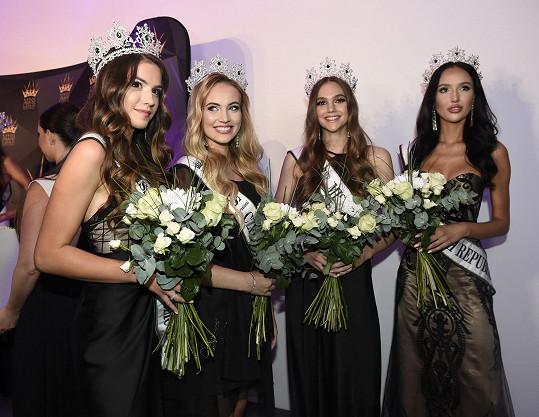 Tohle jsou čtyři vicemiss v letošním finále Miss Czech Republic
