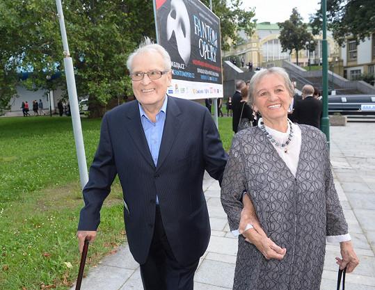 Vladimír Brabec s manželkou.