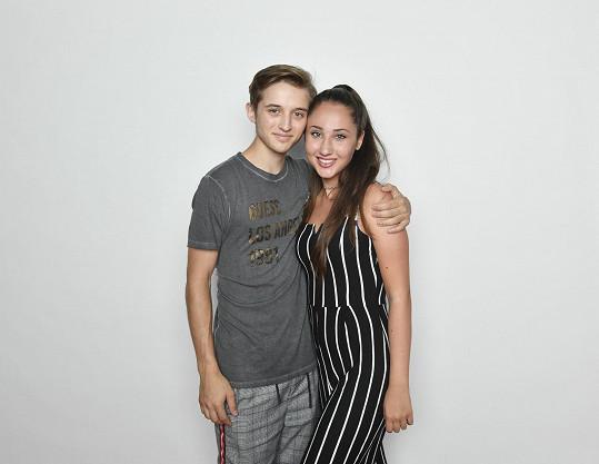 Naty s přítelem Janem