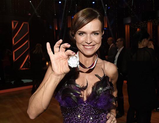 Olga Šípková dostala medaili.