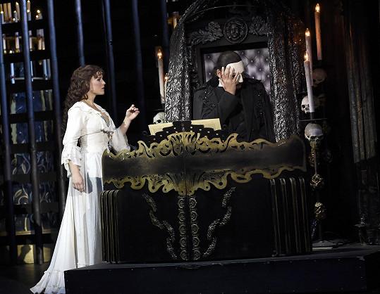 Těší se, že se Fantom opery bude hrát ještě do konce června.