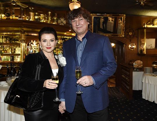 S manželem Petrem Maláskem