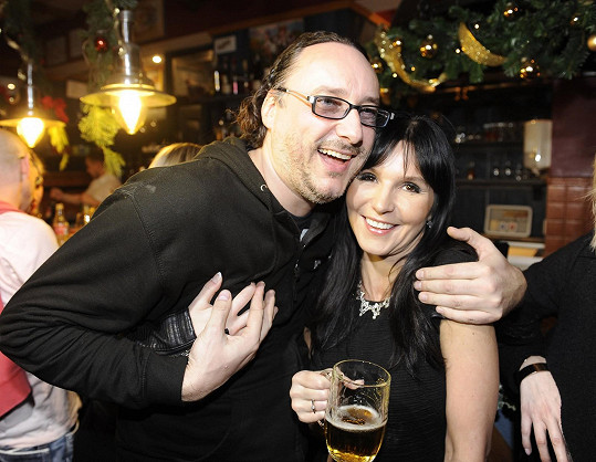 S exmanželkou Petra Jandy, reportérkou TopStaru Martinou