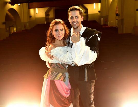 Petr Ryšavý s Ivanou Korolovou