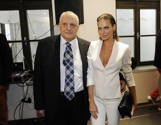 Antonín Charouz s Andreou Verešovou