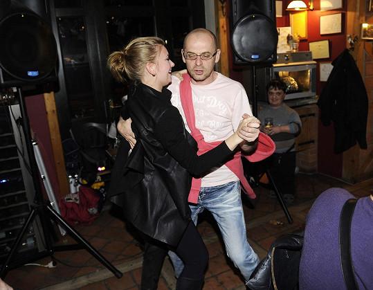 Tomáš Trapl se pustil do tance.