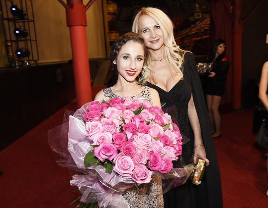 S dcerou Natálkou po představení