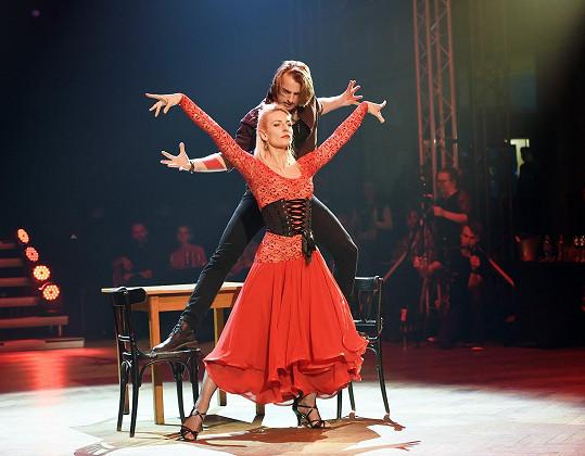 V rámci akce Díky tanci předvedli své oblíbené tango.