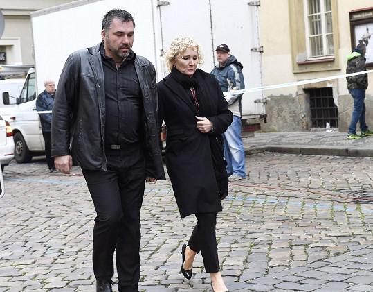 Světlana Nálepková s přítelem Vaškem