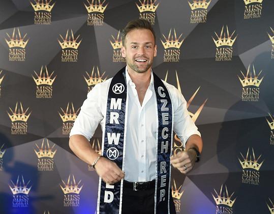 Muž roku 2015 Jakub Kraus pojede Česko reprezentovat na soutěž Mr. World.