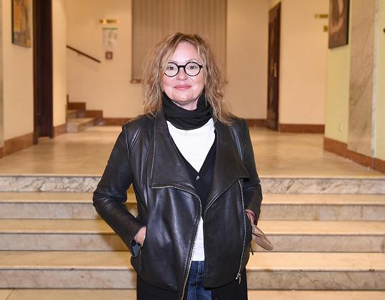 Herečka Jitka Sedláčková se raduje z narození vnučky.