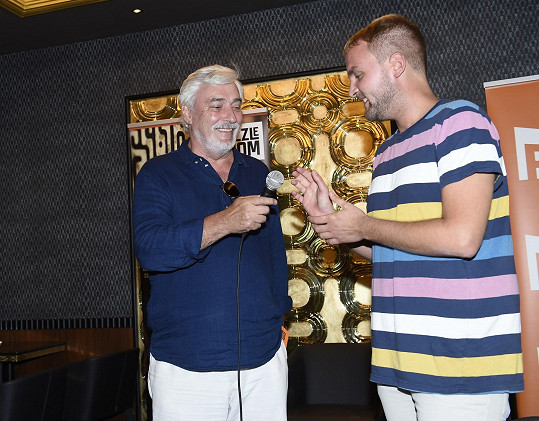 S moderátorem Pevnosti Boyard Liborem Boučkem