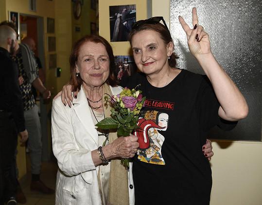 S režisérkou Ivou Janžurovou