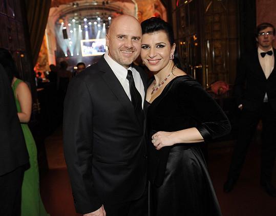 S manželem Radkem Töglem