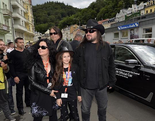 Robert s manželkou Zuzanou a dcerou Amélií Annou
